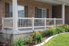 Tan Colonial  					Deck Baluster and Spindles