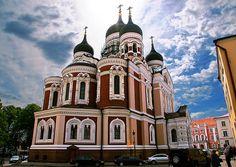 St. Alexander Nevsky Cathedral in Tallinn Estonia | St. Alex… | Flickr