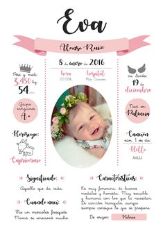 Baby Angel Tattoo, Baby Tattoos, Baby Girl Baptism, Cute Baby Girl, Christening Invitations Girl, First Birthday Posters, Baby Girl Quotes, Bullet Journal Banner, Baby Posters