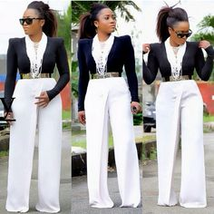 If you're on commission, this outfit will take you to the bank I! #cashout