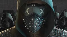 Watch Dogs 2 Wrench Mask Character Wallpaper 1920x1080