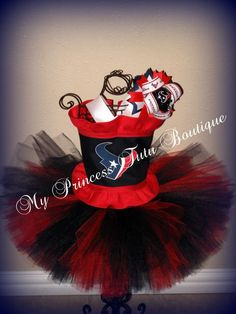 Houston Texans tutu set, super cute gonna have to attempt this one, one day or something close to it