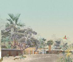 Vi.e.llage_ Drafting A Tropical Universe | KooZA/rch