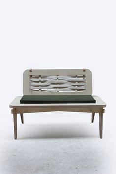 Caribou by Samuel Machell Designed for compact living and inspired by the notion of fusing heritage craft and natural materials with Contemporary manufacturing processes.