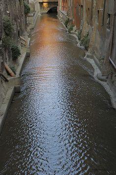 Italy  - Emilia Romagna Region  - Bologna - Canale delle Moline