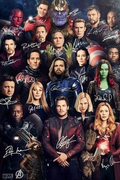 Avengers Signature Movie SILK POSTER Wall painting – Marvel Universe The post Avengers Signature Movie SILK POSTER Wall painting – Marvel Universe appeared first on Marvel Universe. Marvel Avengers, Marvel Jokes, Marvel Comics, Avengers Poster, Marvel Actors, Marvel Funny, Marvel Characters, Marvel Heroes, Avengers Names