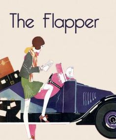 The flapper [derogatory term for women of loose morals] was a newly liberated woman, freed from the ' Gibson girl' corsetry and s-bend silhouettes of the Edwardian era, and the constraints on her lifestyle that clothing, inflicted on her.