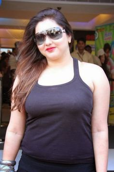 Kollywood Actress Namitha in Sleeveless T Shirt