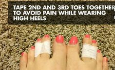 "Loving this sweet little tip: ""Shoe Hacks That Make Your Shoes More Comfortable! !"""
