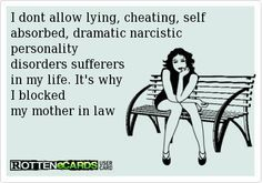 narcissistic mother in law quotes - Google Search