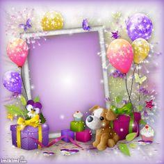 Advance Happy Birthday, Happy Birthday Kids, Happy Birthday Frame, Happy Birthday Cake Images, Happy Birthday Celebration, Birthday Frames, Kids Birthday Cards, Birthday Wishes With Photo, Happy Birthday Flowers Wishes