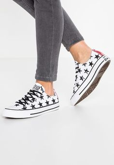 80d46a858efbfe Schoenen Converse CHUCK TAYLOR ALL STAR OX CANVAS PRINT - Sneakers laag -  white black