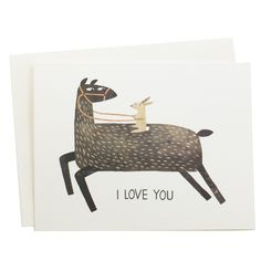 Let them know you want to be more than friends with the More Than Friends (I Love You) Card