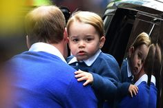 Prince George arrives to meet baby sister - Photo 8 | Celebrity news in hellomagazine.com