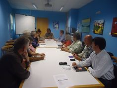 ROQUETES Club de Lectura Adult, maig de 2013, amb Ramón García Mateos i Rosa M. Fusté