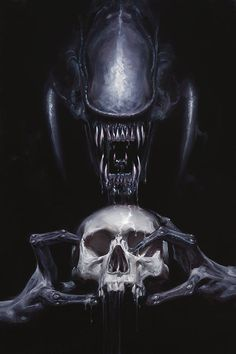 """My paintings seem to make the strongest impression on people who are, well, who are crazy,"" Mr. Giger said in a 1979 interview with Starlog magazine."
