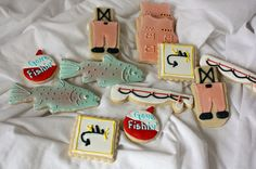 Fly fishing cookies