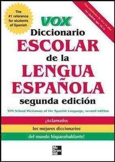 Vox Diccionario Escolar / Vox School Dictionary