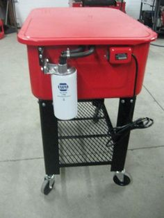 Harbor Freight parts washer redo