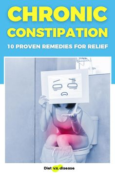 Chronic constipation is a common and uncomfortable complaint. It's rarely dangerous and can often be prevented and treated at home with diet and lifestyle changes. This article explores ten research-backed methods of easing chronic constipation… all of which can be done yourself at home. #dietitian #nutritionist #health #constipation Nutrition Education, Nutrition Tips, Healthy Nutrition, Ibs Fodmap, Constipation Remedies, Health Routine, Thyroid Diet, Food Intolerance, Natural Health Remedies