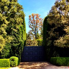 I love the entry gates to the former Jack Warner estate in Beverly Hills. #beverlyhills