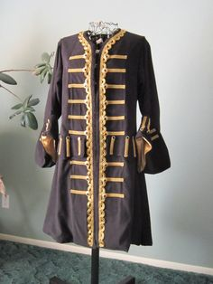Pirate+coat+by+StitchduckDesigns+on+Etsy,+$375.00