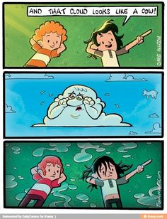 Don't hurt a cloud's feelings