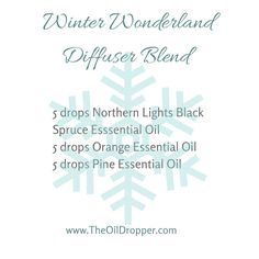 One of the great blends from the collection over at: http://www.theoildropper.com/winter-essential-oil-recipes/