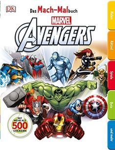 Ultimate Factivity Collection: Marvel the Avengers by DK Publishing (English) Pa 1465432493 Marvel Avengers, Marvel Heroes, Avengers Movies, Marvel Art, Create Your Own Book, Create Your Own Adventure, Drawing Activities, Book Activities, Fiction Books For Kids