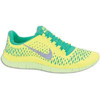 a53de688bc6e Nike Free Run 3.0 V4 - Men s - Yellow   Green