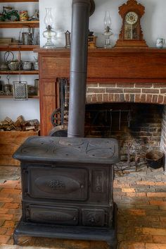 Old Kitchen Cook Stove