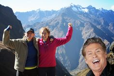 Google+ Photos introduces Auto Awesome Photobombs, with David Hasselhoff!  #photobombs #googleplusphoto @Johnny Cash