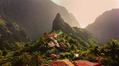 Maska, Spain 20 gorgeous real-life villages which came straight out of fairytales Places Around The World, The Places Youll Go, Places To Visit, Around The Worlds, Tenerife, Wonderful Places, Beautiful Places, Village Photos, Spain And Portugal