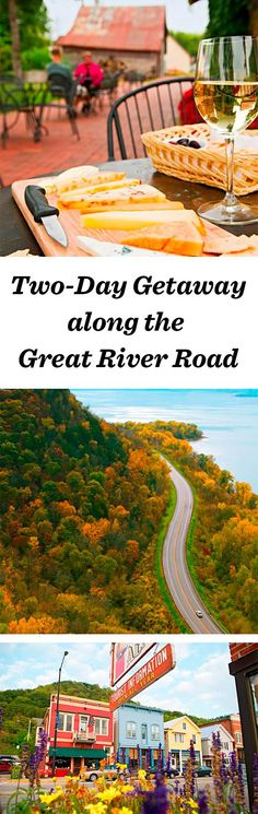 More than 30 small river towns—filled with niche-yet-fascinating museums, creameries, art galleries and pretty inns—dot the bluffs overlooking the Mississippi River along Wisconsin's stretch of the Great River Road: www.midwestliving... #wisconsin #travel #roadtrip