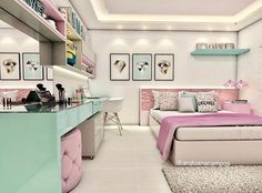 #bedroom #design #interior #girl