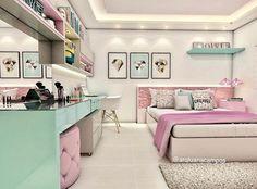 #bedroom #design #interior #girl