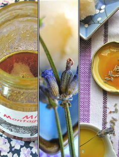Honey Lavender Sorbet