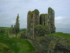 Castle Sinclair Girnigoe near Wick, Scotland - home of the Sinclairs