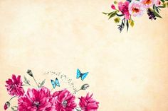 View Free image about Pink Floral Flower Plant Design with creative commons license Original Wallpaper, Cool Wallpaper, Decoupage, Butterfly Background, Photo Images, Fabric Birds, Make A Donation, Flower Backgrounds, Plant Design