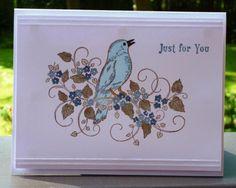 CAS266  Blue Songbird