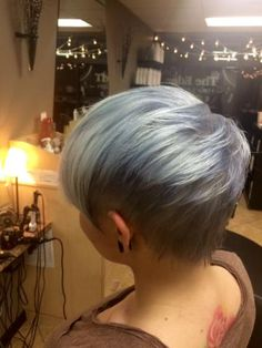 When I'm too tired of covering greys, I want this hair color!