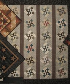 Reproduction Civil War Soldier's Cot Quilt that was raffled off during the Civil War Encampment last year. Description from pinterest.com. I searched for this on bing.com/images