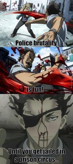 Deadman Wonderland Senji funny meme