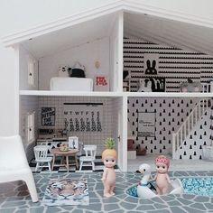 Instagram media by stadtlandkind - When can I move in @chloeuberkid? Serious (doll) house envy! We restocked on Sonny Angels, by the way. #dollhouse #sonnyangels #stadtlandkind
