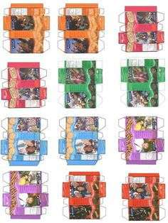 Doll Girl Scout Cookie Boxes