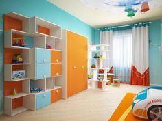 Dormitorios infantiles modernos de Мастерская дизайна ЭГО