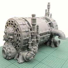 Warhammer 40k Tabletop, Warhammer Terrain, 40k Terrain, Game Terrain, Wargaming Terrain, Warhammer 40k Space Wolves, Warhammer Imperial Guard, Surface Modeling, Necron
