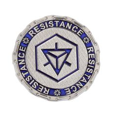 Ingress Resistance Key Challenge Coin