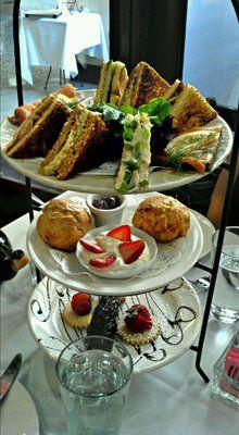 afternoon tea @Kristin Machado Tea Room LOVE THIS PLACE :-))