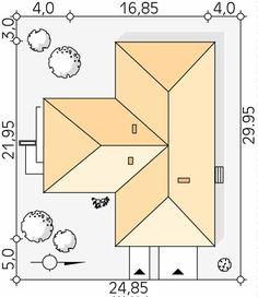 Aksamit 8 projekt domu - Jesteśmy AUTOREM - DOMY w Stylu Colonial, 1, Dreams, Cottage, Houses, Homes